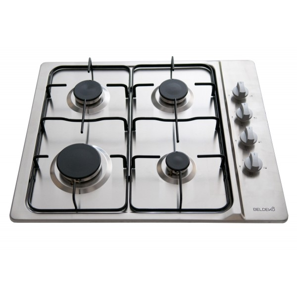 Table de cuisson gaz beldeko btg4z e01ix beldeko - Table de cuisson gaz et electrique encastrable ...
